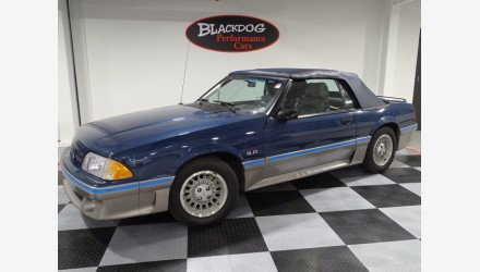 1987 Ford Mustang Convertible for sale 101412608