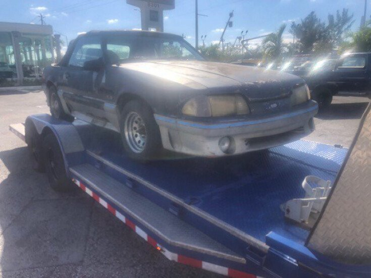 1987 Ford Mustang GT for sale 101544729