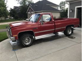 1987 GMC Sierra 1500 4x4 Regular Cab for sale 101474578