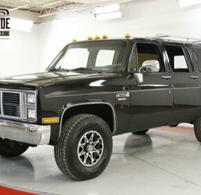 1987 GMC Suburban 4WD 2500 for sale 101271150