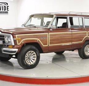 1987 Jeep Grand Wagoneer for sale 101346251
