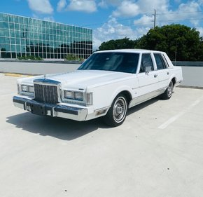 1987 Lincoln Town Car for sale 101356953
