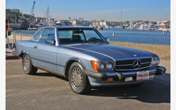 1987 Mercedes-Benz 560SL for sale 101052792