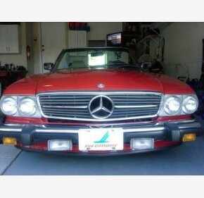 1987 Mercedes-Benz 560SL for sale 101062125