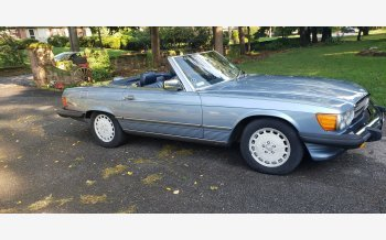 1987 Mercedes-Benz 560SL for sale 101205015