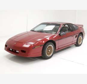 1987 Pontiac Fiero GT for sale 101080219
