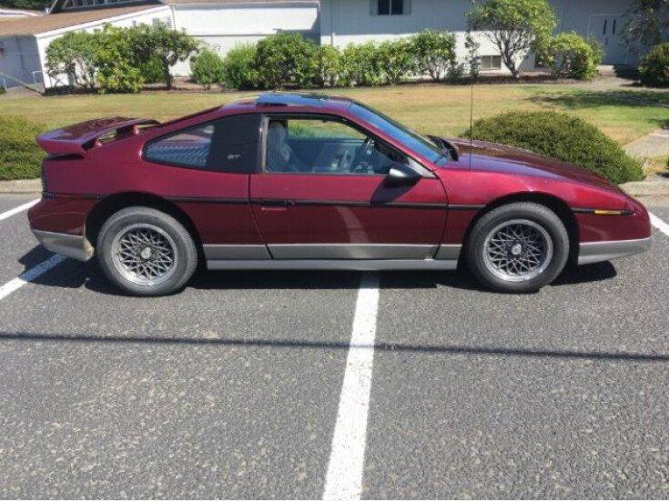 1987 Pontiac Fiero GT for sale 101199449