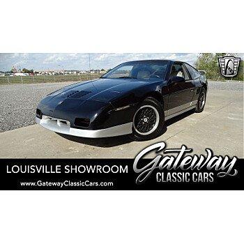1987 Pontiac Fiero GT for sale 101222042