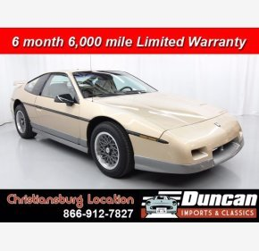 1987 Pontiac Fiero GT for sale 101305561