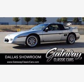 1987 Pontiac Fiero GT for sale 101443284