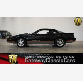 1987 Pontiac Firebird Coupe for sale 100976275