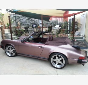 1987 Porsche 911 Carrera Cabriolet for sale 101221168