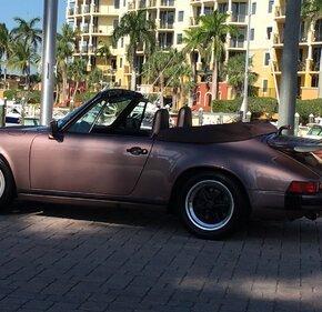 1987 Porsche 911 Carrera Cabriolet for sale 101271848