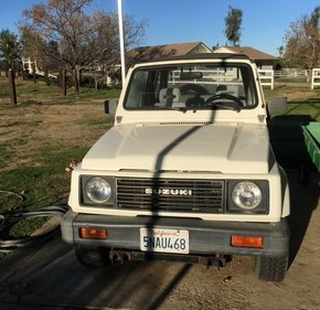 1987 Suzuki Samurai 4WD Soft Top for sale 101357676