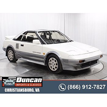 1987 Toyota MR2 for sale 101609340