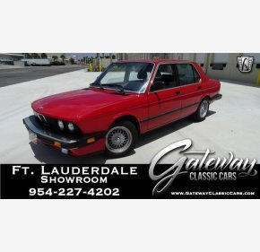 1988 BMW 535i Sedan for sale 101136733