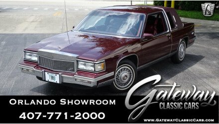 1988 Cadillac De Ville Coupe for sale 101170479