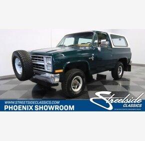 1988 Chevrolet Blazer 4WD for sale 101130924