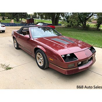 1988 Chevrolet Camaro Convertible for sale 101208076