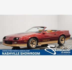 1988 Chevrolet Camaro Convertible for sale 101406866