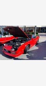 1988 Chevrolet Camaro Convertible for sale 101407288