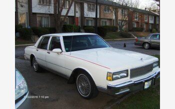 1988 Chevrolet Caprice Classic Brougham Sedan for sale 101082797