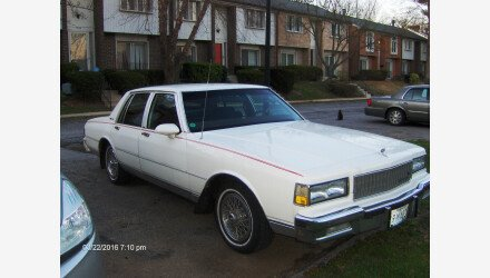 1988 Chevrolet Caprice Classic Brougham Sedan for sale 101082797