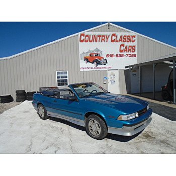 1988 Chevrolet Cavalier Z24 Convertible for sale 101467523