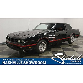 1988 Chevrolet Monte Carlo SS for sale 101085406