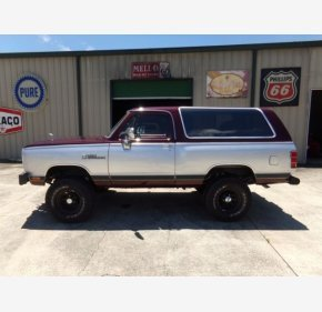 1988 Dodge Ramcharger for sale 101331558