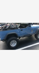1988 Jeep Wrangler 4WD for sale 101292279