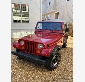 1988 Jeep Wrangler 4WD S for sale 101430799