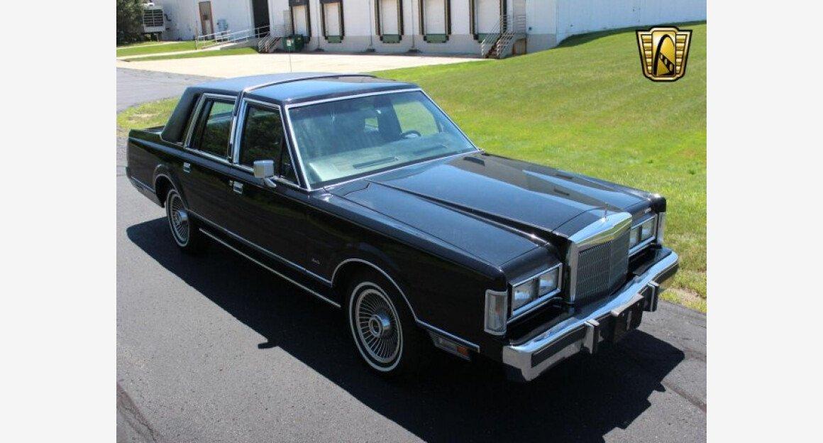 1988 Lincoln Town Car For Sale Near O Fallon Illinois 62269
