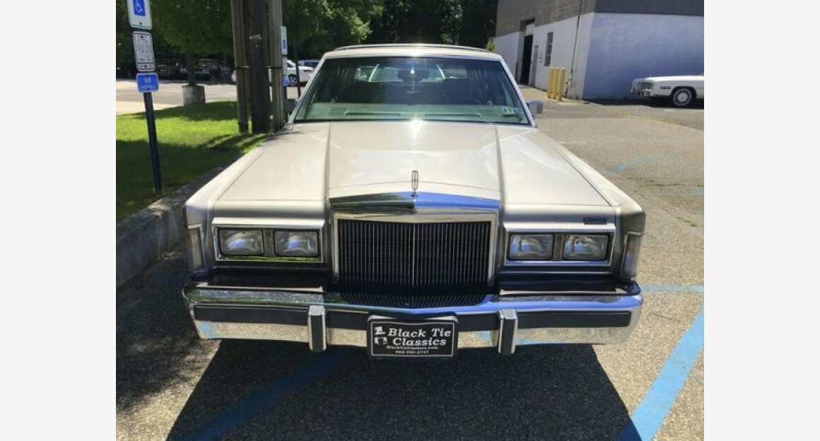1988 Lincoln Town Car For Sale Near Riverhead New York 11901