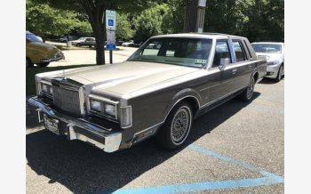 1988 Lincoln Town Car for sale 101002985