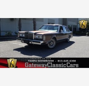 1988 Lincoln Town Car Signature for sale 101041156