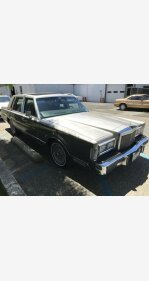 1988 Lincoln Town Car for sale 101185609