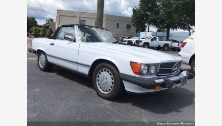 1988 Mercedes-Benz 560SL for sale 101351482