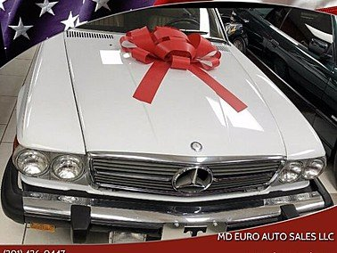1988 Mercedes-Benz 560SL for sale 101398201