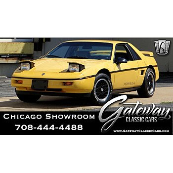1988 Pontiac Fiero for sale 101186342