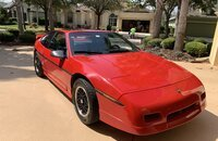 1988 Pontiac Fiero GT for sale 101406919