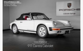1988 Porsche 911 Carrera Cabriolet for sale 101209575