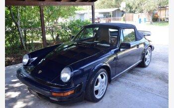 1988 Porsche 911 Carrera Cabriolet for sale 101354167