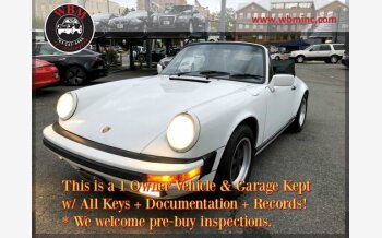 1988 Porsche 911 Carrera Cabriolet for sale 101395265