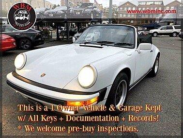 1988 Porsche 911 Carrera Cabriolet for sale 101395265