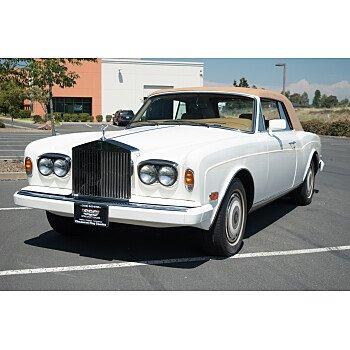 1988 Rolls-Royce Corniche II for sale 101150230