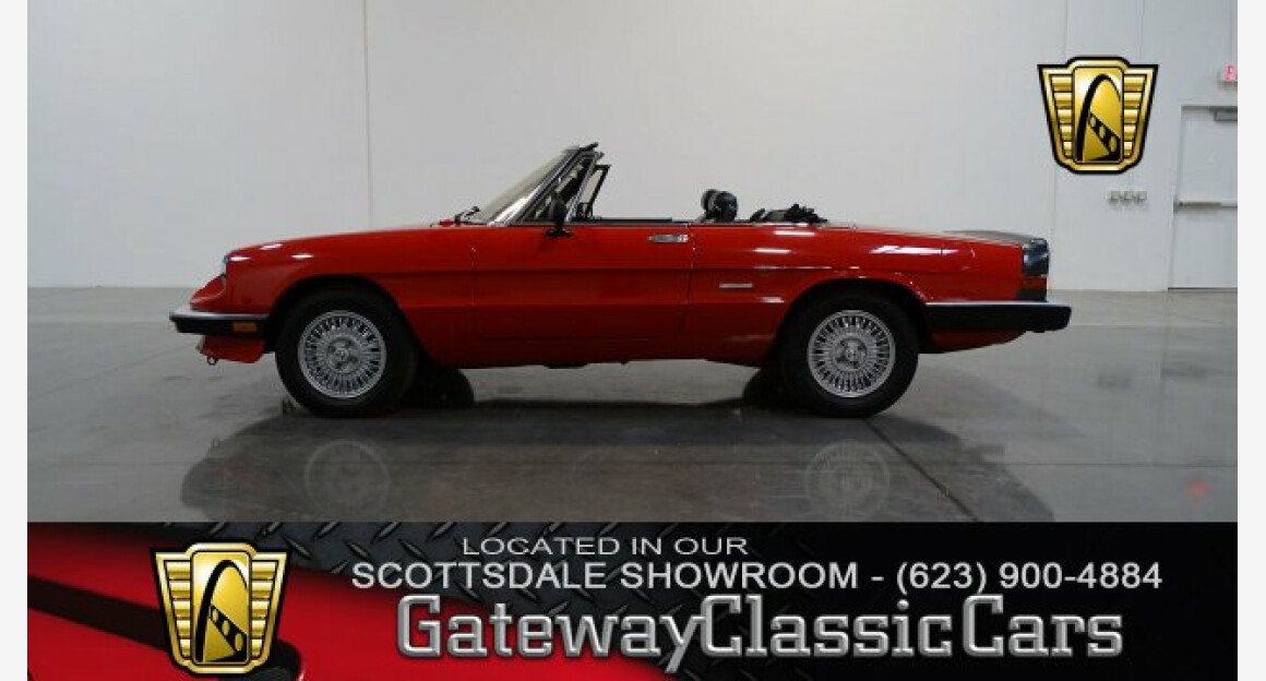 1989 Alfa Romeo Spider Graduate for sale 100964995