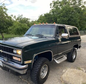 1989 Chevrolet Blazer 4WD 2-Door for sale 101356642