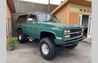 1989 Chevrolet Blazer 4WD for sale 101467619