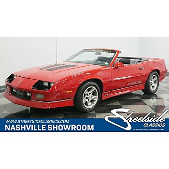 1989 Chevrolet Camaro Convertible for sale 101155729